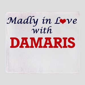 Madly in Love with Damaris Throw Blanket